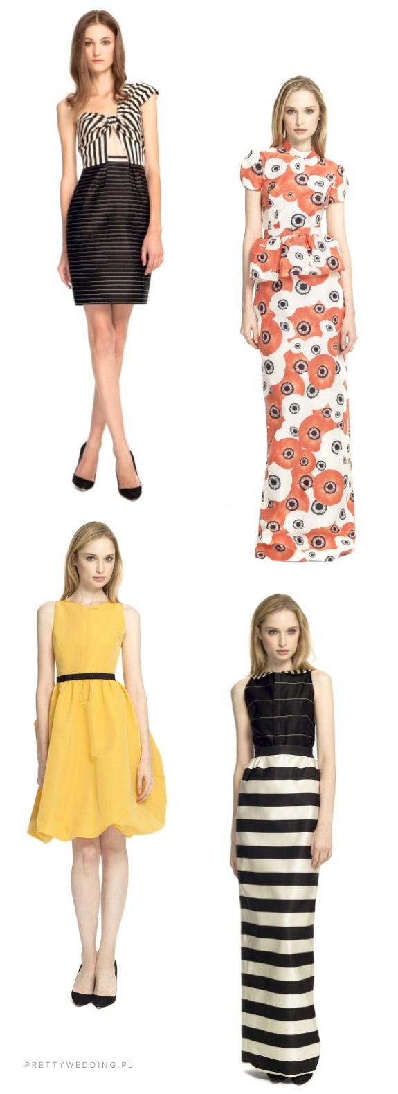 Proste i eleganckie kreacje Katie Ermilio na wiosnę 2013