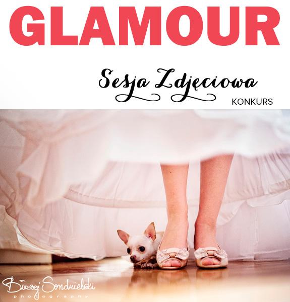 Sesja w stylu Glamour