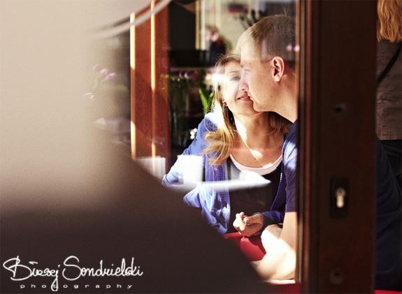 Zdjęcia ślubne we wnętrzach