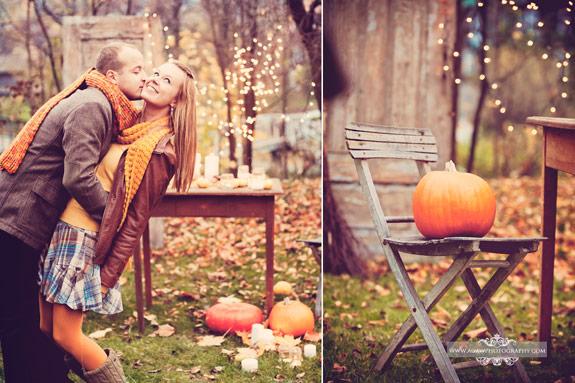 romantyczne detale w stylu wintage na stylizowanej sesji jesienią