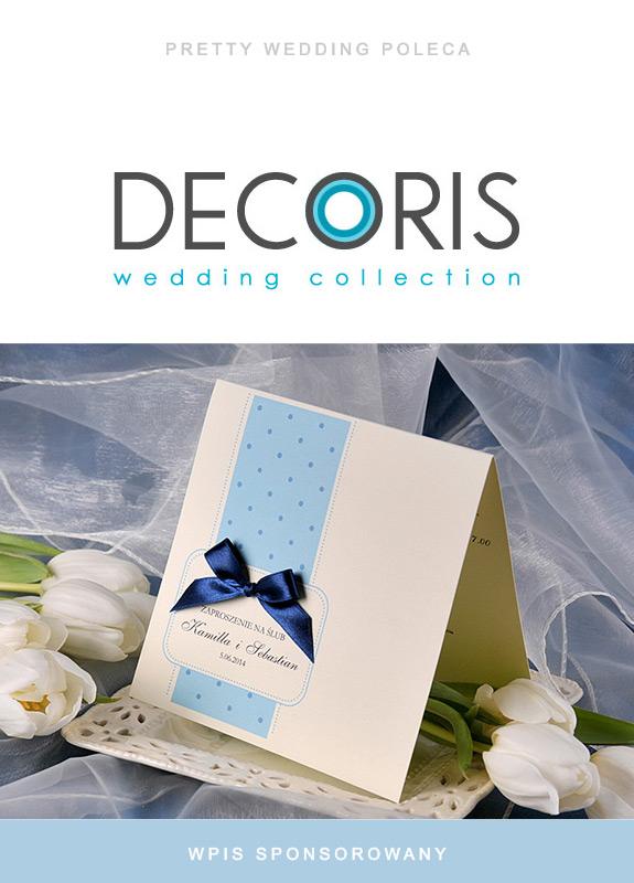 Zaproszenia ślubne Decoris
