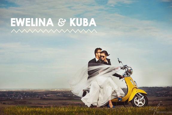 Sesja plenerowa z motocyklem