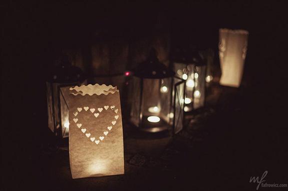 Motyw serduszek na ślubie