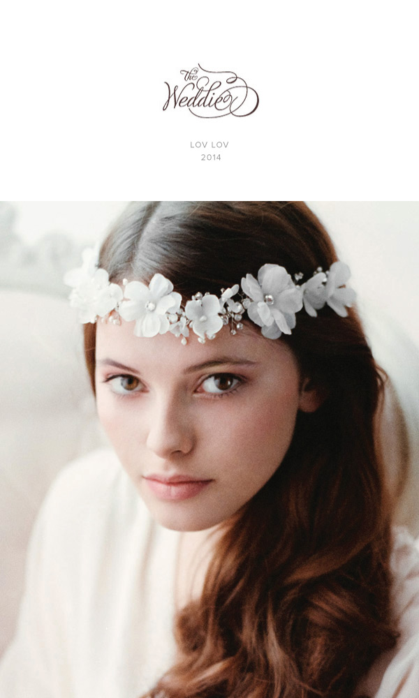 Wiosenna Kolekcja The Weddie - opaski ślubne, stroiki do włosów, kwiaty we włosach