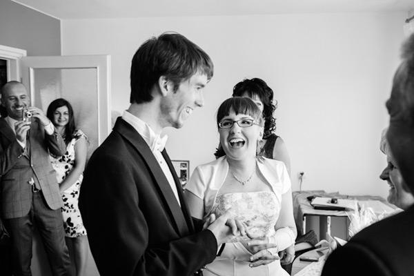 Przed weselem w domu rodziców