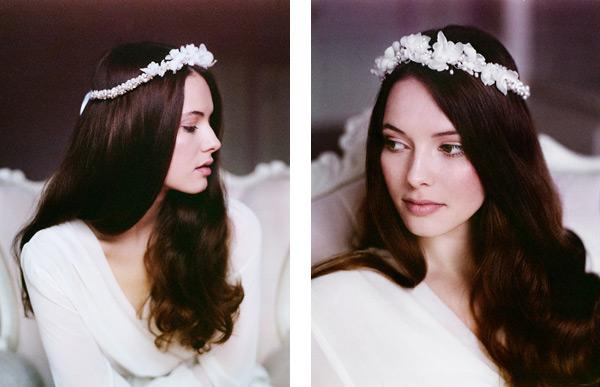 piękne opaski do włosów na ślub