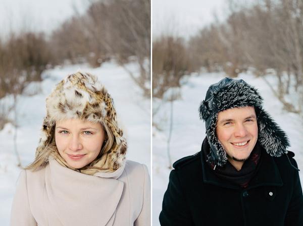 portretówki zimą