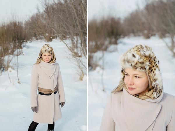 Zdjęcia portretowe zimą