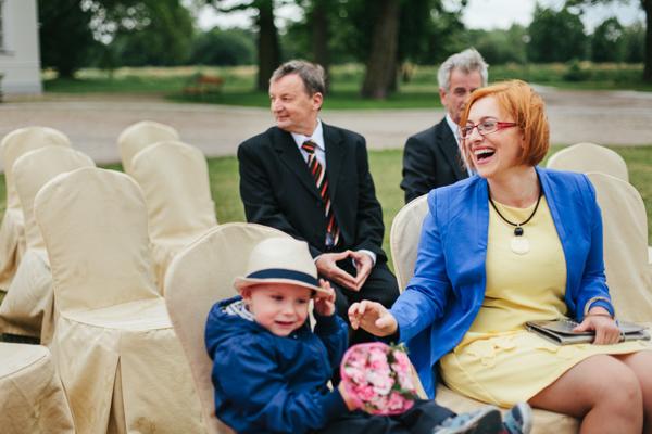 Rodzina na ślubie