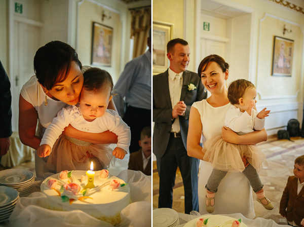 Połączenie ślubu i urodzin