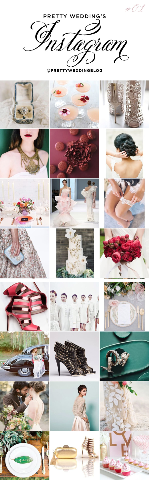 Blog Ślubny Pretty Wedding na Instagramie